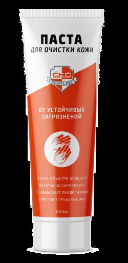 Паста для мытья сильнозагрязненных рук «CКС PROFLINE» туба 100 мл.